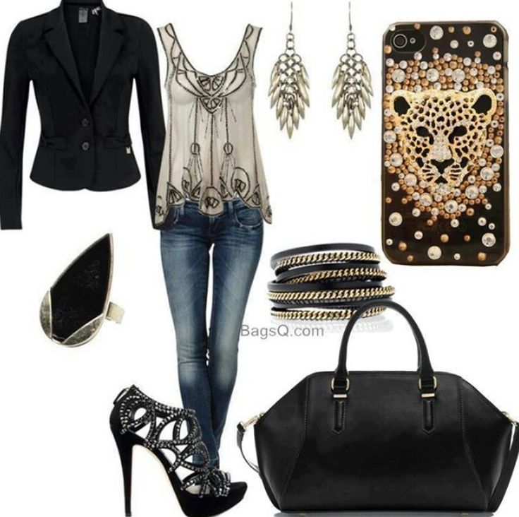 Girls night out outfit!! | My Style | Pinterest | In love ...