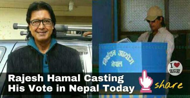 Fake news of the death of Nepal superstar Rahesh Hamal goes viral over social media   Some fake websites and fake social media pages have written a fake story of Nepal superstar Rajesh Hamal death early morning today which is not true.  They have mentioned that he died via some accident when his vehicle was ramped by a truck.  Sources say Rajesh Hamal is all well and had even gone to vote today morning.  RajeshHamalis aNepaleseactor in Nepal. He has received many awardsfor his acting…