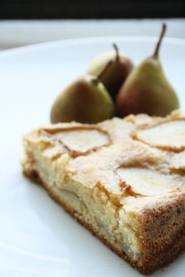 Lemon Pear Cake
