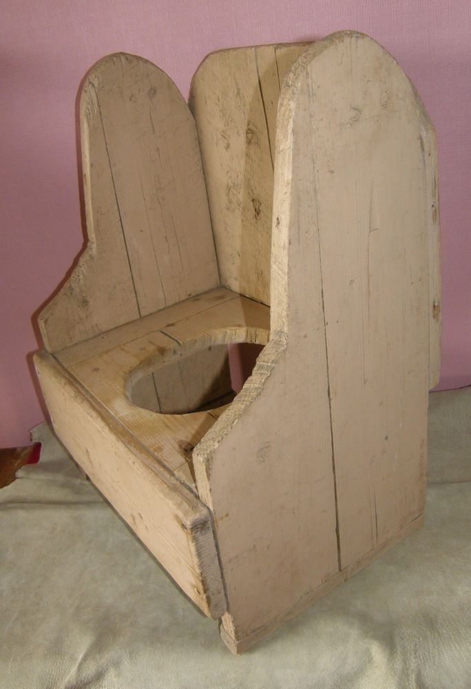 ANTIQUE PRIMITIVE CHILD/TODDLER WOOD POTTY CHAIR ORIGINAL - 45 Best Potty Chair With Tray Images On Pinterest Other, Trays