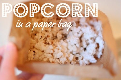 Healthy and cheaper alternative to store-bought microwave popcorn.  we do this all the time it works and is yummy!