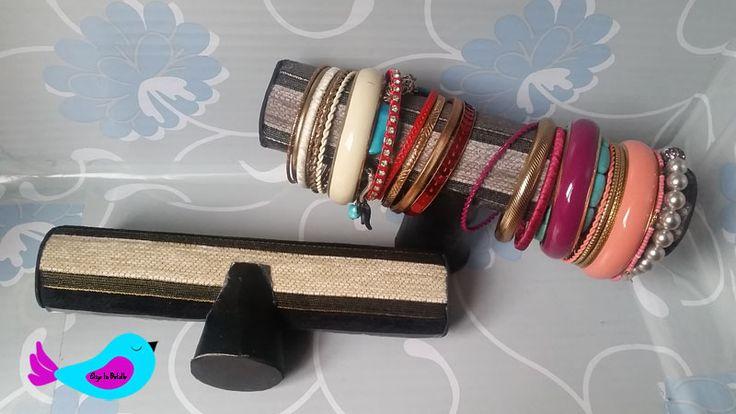 Decoración: organizador pulseras