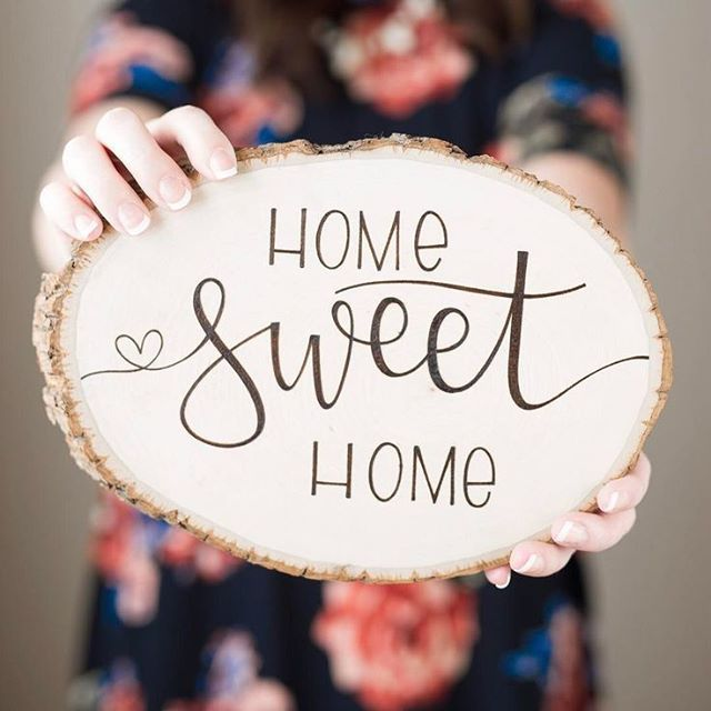home is where the heart is wood burning