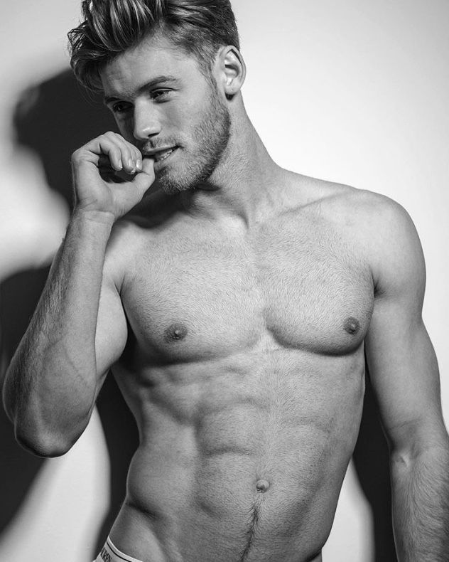 Good looking men naked