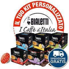 288 CAPSULE BIALETTI MOKESPRESSO I CAFFÉ D'ITALIA A SCELTA