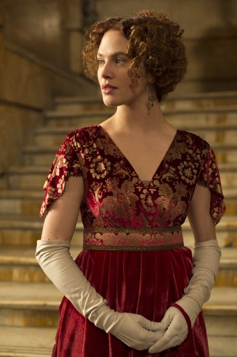 Jessica Brown Findlay from Winter's Tale...one of the projects she left DA to do