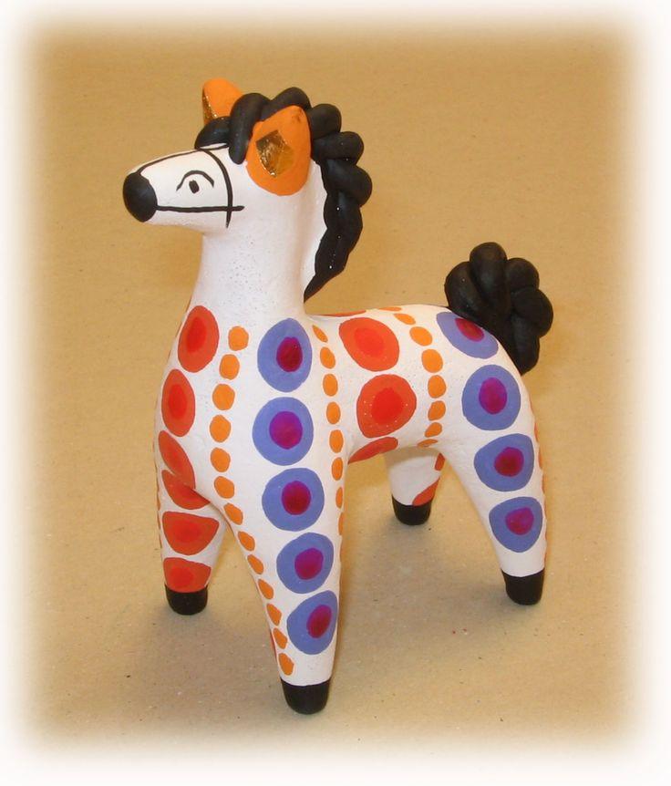 нам рисунки дымковских игрушек коня праздник честь принятия