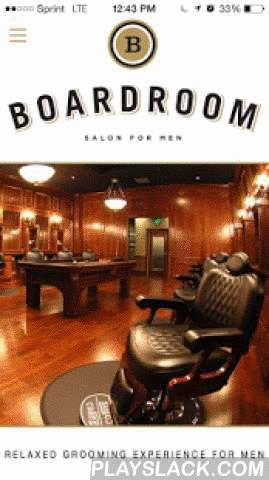 Boardroom  Android App - playslack.com , The Boardroom Salon for Men SM was created to provide a cool, comfortable, masculine place for men to get a great haircut, shave, facial or other spa service – the ultimate relaxed grooming experience for men.The Boardroom's mission is to help men look and feel their best by combining exceptional hair, shave and spa services with outstanding client service. All services are delivered by a friendly, highly skilled team of professionals in a…