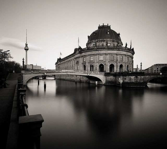 The Bode Museum, Museum Island / Bode-Museum, Museumsinsel (Schwarzweiss), Berlin Mitte / Bode Museum (black and white), Berlin's Museum Island, Germany | Flickr - Photo Sharing!