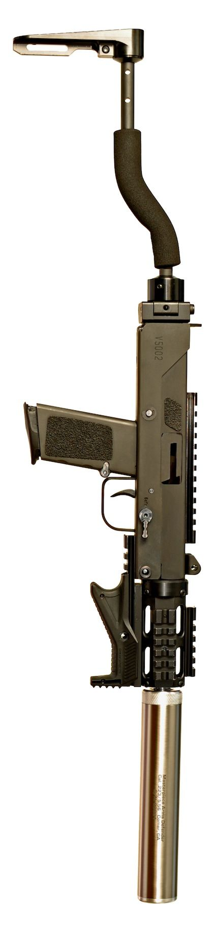 Masterpiece Arms-mpa570sst_5.7x28mm  Cycles hi-vel, and subsonic ammo w/o adjustment...