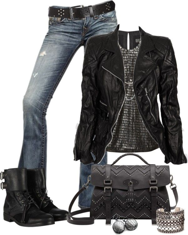 """""""Rocker Chic"""" by johnna-cameron on Polyvore"""