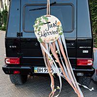 Персиковая свадьба, свадебный букет, букет невесты, букет из гвоздик, розы Остина, эустома, пара влюбленных, оформление машины, воздушные ленты, свадебная прогулка