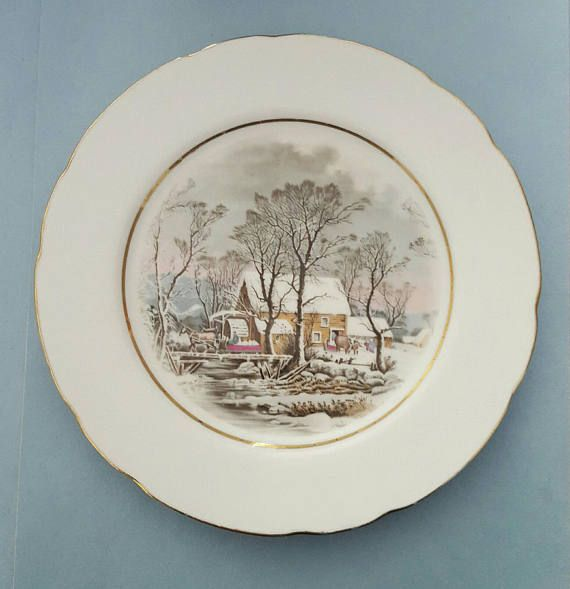 Check out this item in my Etsy shop https://www.etsy.com/au/listing/508908282/vintage-avon-collectors-plate-grist-mill