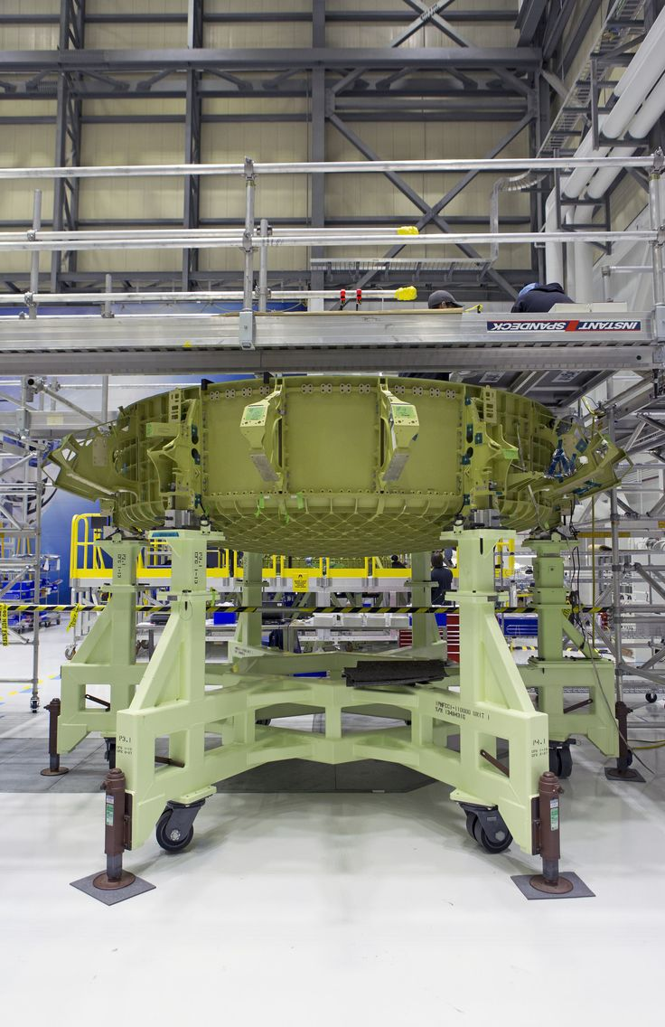 https://flic.kr/p/228ELWs   KSC-20171030-PH_KLS01_0032   The lower dome of Boeing's CST-100 Starliner Crew Test Flight Vehicle is secured in a work stand inside the company's Commercial Crew and Cargo Processing Facility at NASA's Kennedy Space Center in Florida. The CST-100 Starliner will launch on a United Launch Alliance Atlas V rocket to the International Space Station as part of NASA's Commercial Crew Program.   Photo credit: NASA/Kim Shiflett NASA image use policy.