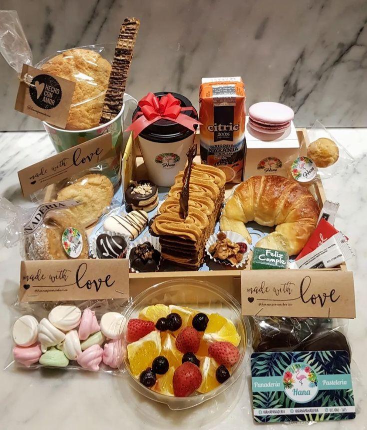 Desayunos Regalo Cumpleaños Domicilio Dia De La Madre   Mercado Libre Chocolates, Breakfast, Birthday, Desserts, Gifts, Food, Romantic Surprise, Mother's Day, Frases