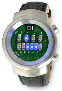 Binary Watch. The ONE watch I will ever wear. ZERO doubt about it.