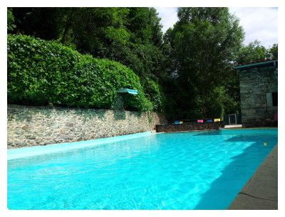 Camping Moulin de Chaules - cantal-zwembad