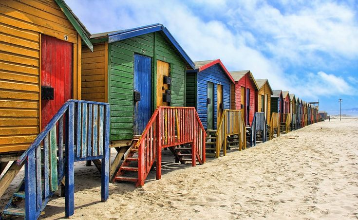 The Best of Cape Town, South Africa, in 10 pictures. Muizenberg where we all dream to have a beach house!