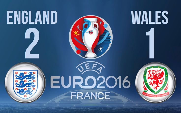 England vs Wales 2-1  ⚽️ 90 Second Match Report ⚽️ #Euro2016 ⚽️ Goals & ...