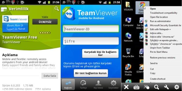 Androidde TeamViewer ile Telefonunuzdan BilgisayarınızıYönetin   http://androidturkey.net/2011/09/15/androidde-teamviewer-ile-telefonunuzdan-bilgisayarinizi-yonetin/