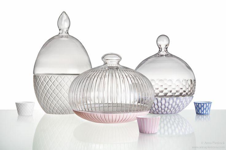 BOMMA, dozes, glass, porcelain, ceramic, design