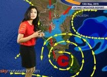 National Weather Video Report For 13-05-2015  http://www.skymetweather.com/content/national-video/national-weather-video-report-for-13-05-2015/
