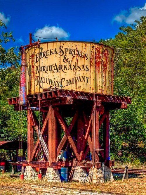 Eureka Springs Water Tower - Old water tower in Eureka Springs Arkansas
