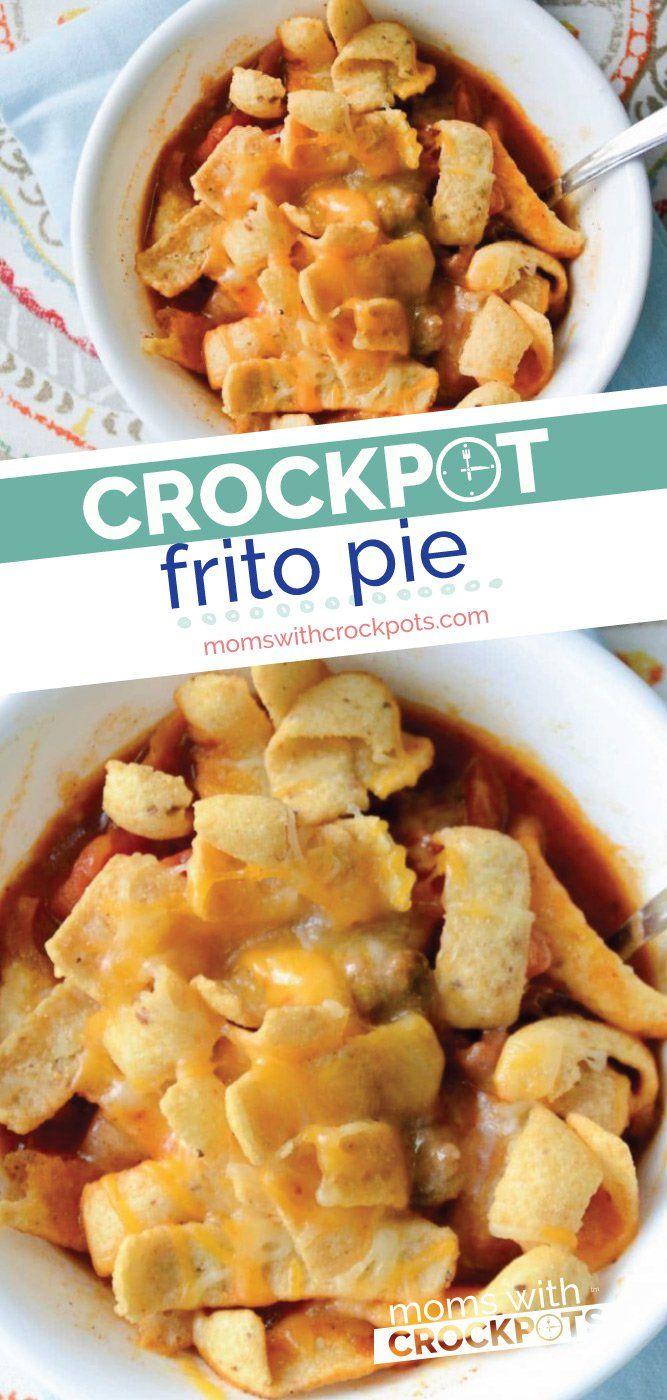 Crockpot Frito Pie