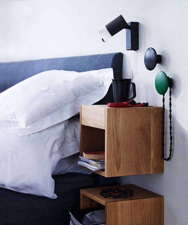 "Kub | Norrgavel - Bedside ""tabel"" from sweden. I want!"