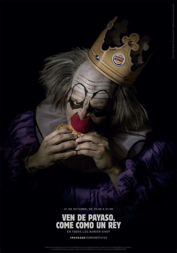Burger King celebra Halloween invitando a un ejército de payasos #ScaryClownNight | Tiempo de Publicidad | Blog de Publicidad y Creatividad