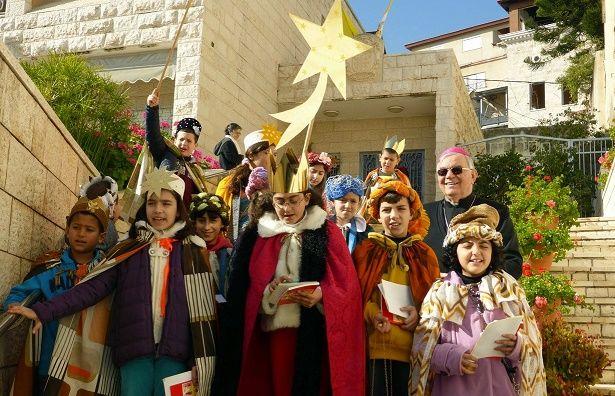 I 'Cantori della Stella' arrivano a Nazareth