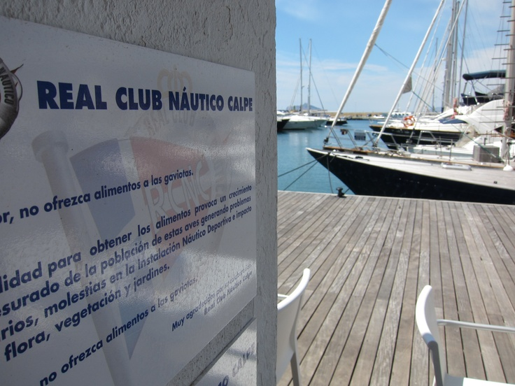 El Real Club Náutico de Calpe