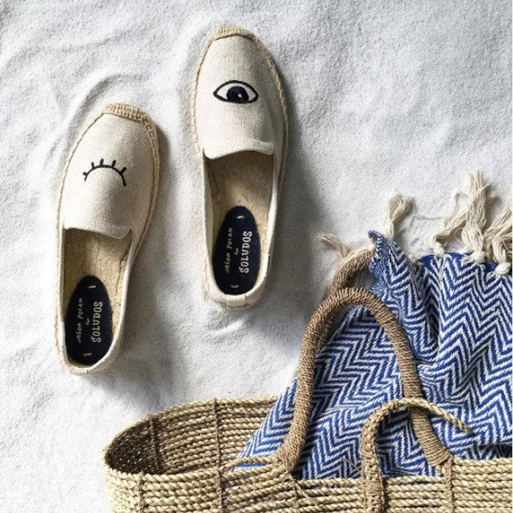 Trend to Try: Straw Bags and Espadrille Shoes