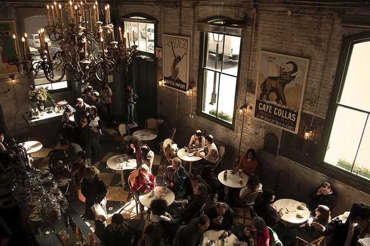 Balzac Cafe in Distillery District