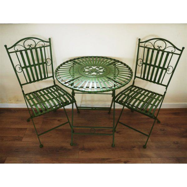 Buy Green 2 Seater Bistro Set   Green Patio Set   Swanky Interiors   Garden  Furniture By Swanky Interiors   Pinterest   Gardens, Furniture And 2!