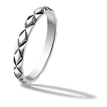 マトラッセ ラフィネ ウェディングリング - CHANEL(シャネル)の結婚指輪(マリッジリング)133,920