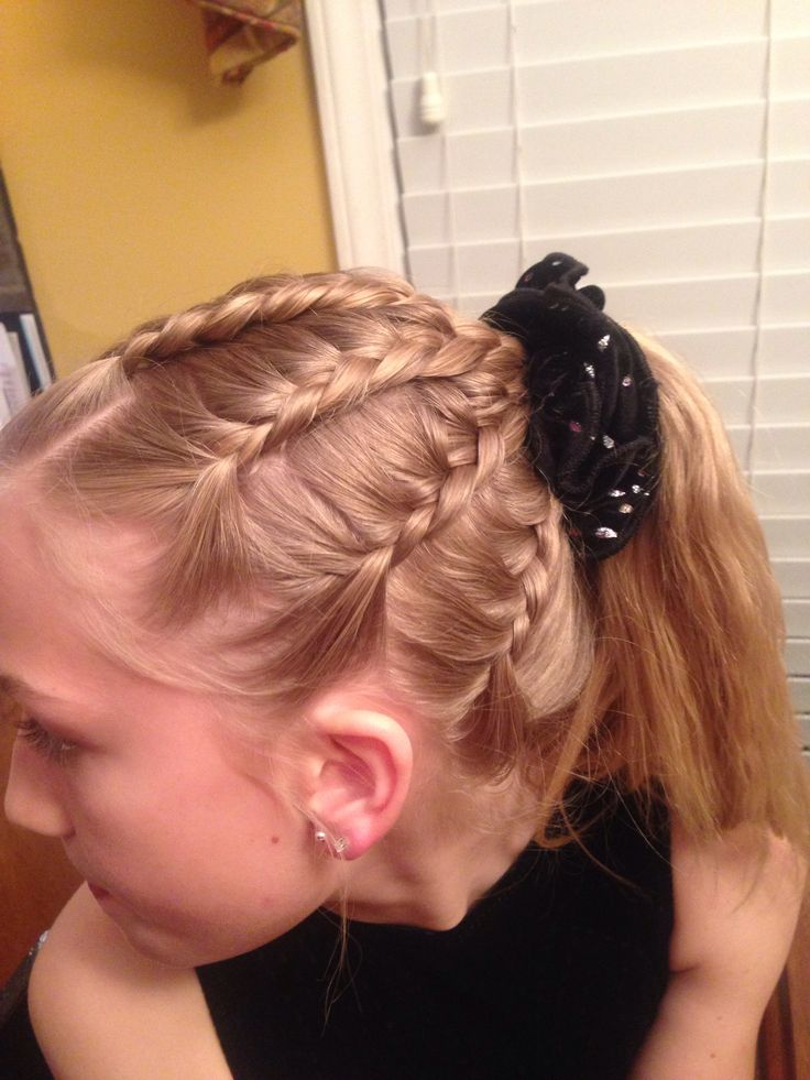 Tremendous 1000 Images About Gymnastic Hair On Pinterest Gymnastics Hair Short Hairstyles For Black Women Fulllsitofus