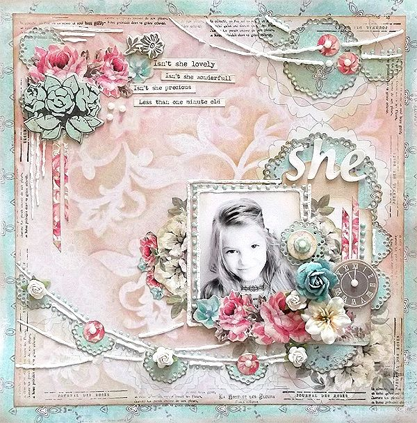{Isn't she lovely} *The ScrapCake* - Scrapbook.com