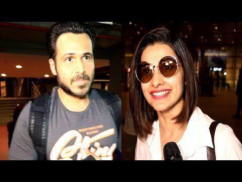AZHAR starcast Emraan Hashmi & Prachi Desai spotted at Mumbai airport.