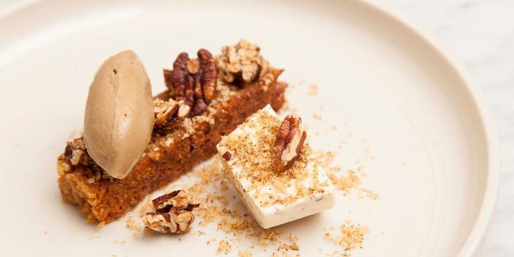 Lee Westcott creates an irresistible dessert from the flavours of malt, Coffee Porter beer and pecan.