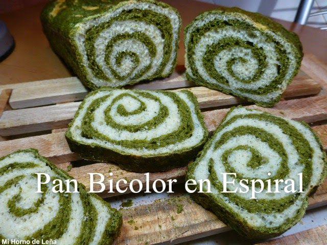 PAN DE MOLDE BICOLOR. Atrévete a darle color a tu pan de molde, además de rico, sano y bonito!!