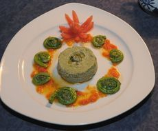 This Fiddlehead Chartreuse recipe by New Brunswick Chef Luc Schofield is a lovely (and delicious) way to add colour to any meal. #ExploreNB