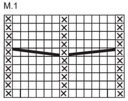 """DROPS 116-14 - Xaile DROPS em ponto jarreteira com trança em """"Polaris"""" –DROPS design : Modelo n.º PO-017 - Free pattern by DROPS Design"""