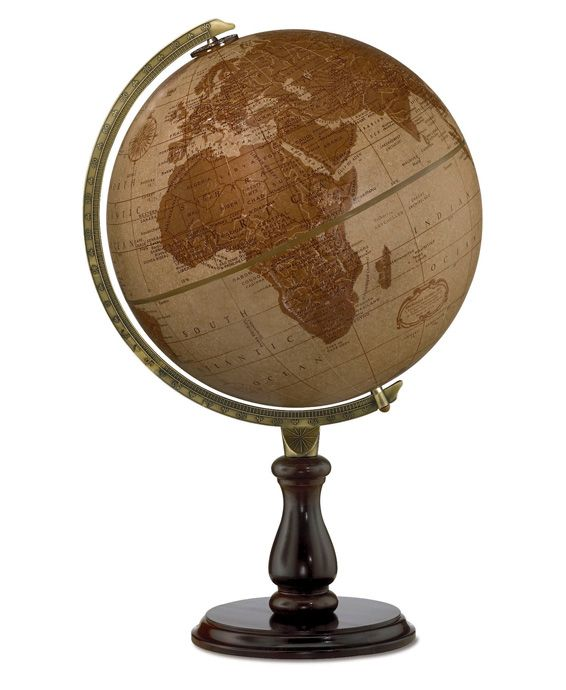 59 best desktop globes images on pinterest world globes desk replogle leather expedition desktop world globe with walnut finish base die cast desk globemap gumiabroncs Image collections