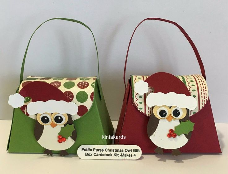 Stampin Up Petite Purse Be of Good Cheer DSP, Cardstock ,Christmas Punch Owl Kit | eBay