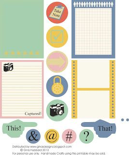 Gina's Designs: This & That Freebie Friday on Thursday