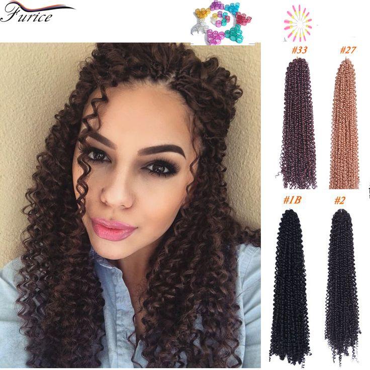 18 Inch Marley Braid Hair Freetress Deep Twist Freetress Braiding Hair Curly Crochet Hair Freetress Braid Crochet Water Wave Box