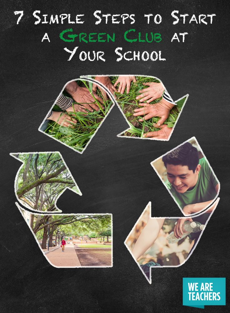 Start a Green Club at Your School with These Easy Steps - Turns out it IS easy being green.