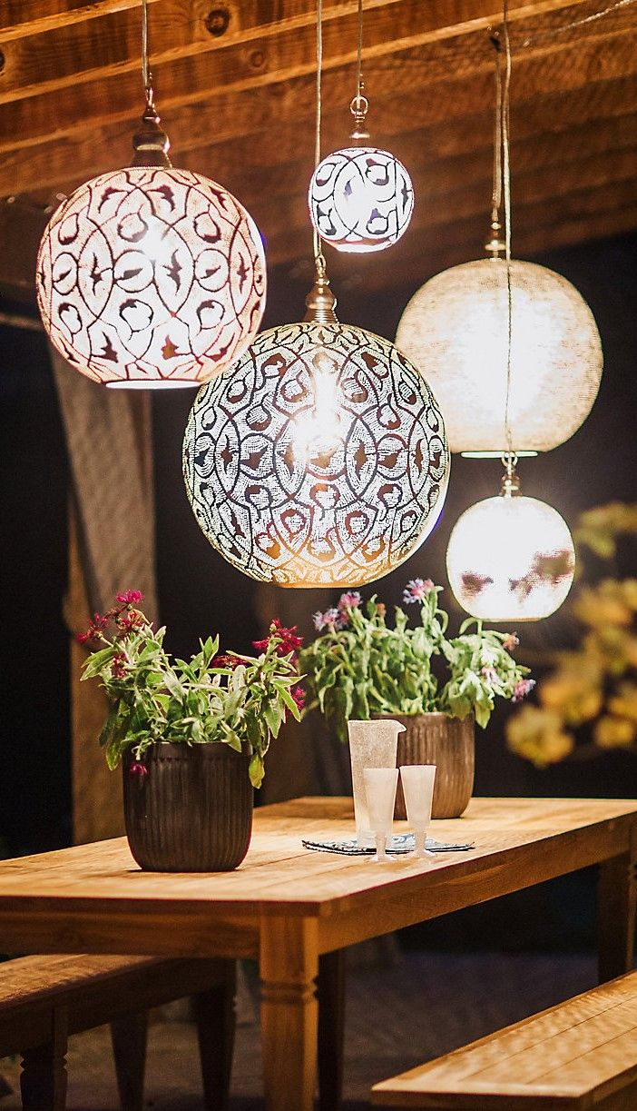 Zenza Filigree Sphere Light Large The Best Of Home Decor In