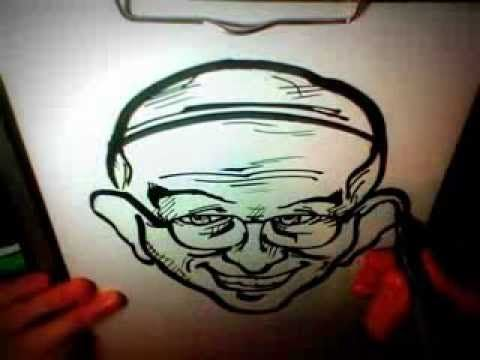 Drawing: POPE FRANCIS CARICATURE! [3min]